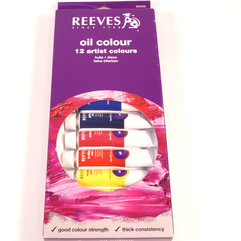Reeves Oil Colour Set - Hands Craft Store