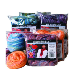 Scarf Kit Merino/Silk - Ashford - Hands Craft Store