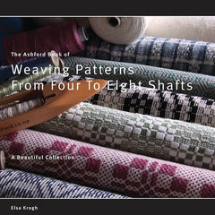 Book of Ashford Weaving Patterns from Four to Eight Shafts - Hands Craft Store