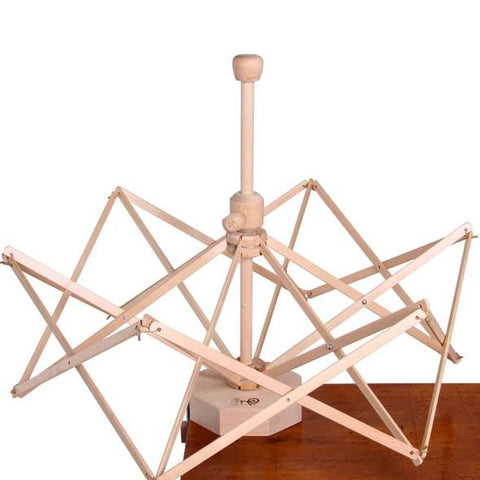 Yarn Holders - Wooden Umbrella Swift - Ashford - Hands Craft Store