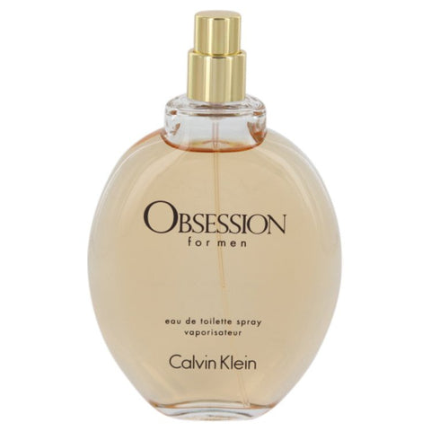 Calvin Klein Obsession For Men Eau De Toilette Spray (Tester) 4 oz