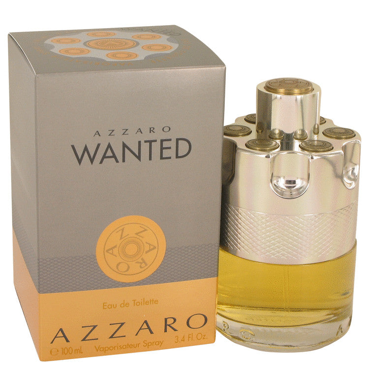 Azzaro Azzaro Wanted For Men Eau De Toilette Spray 3.4 oz