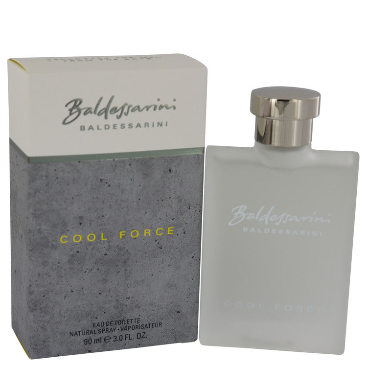 Hugo Boss Baldessarini Cool Force For Men Eau De Toilette Spray 3 oz