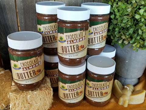 Chocolate Almond Butter from Sohnrey Family Foods