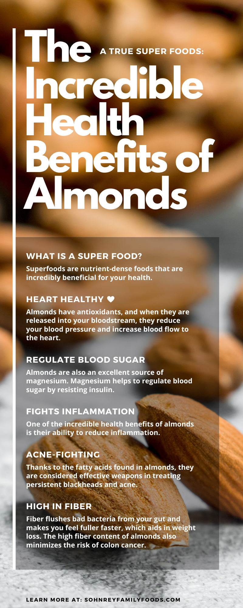 A True Super Foods: The Incredible Health Benefits of Almonds