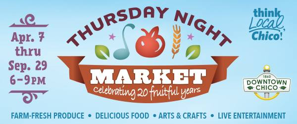 Downtown Chico Thursday Night Market