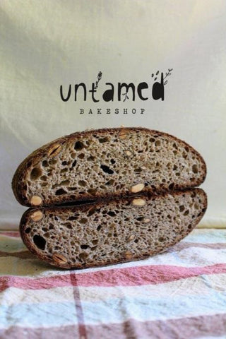 Untamed Bakeshop Toasted Almond and Rosemary Bread