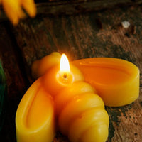 Honeybee Beeswax Candle