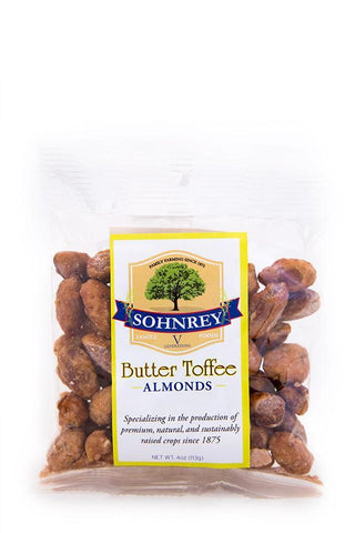 Premium Butter Toffee Almonds