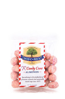 4oz Candy Cane White Chocolate Almonds
