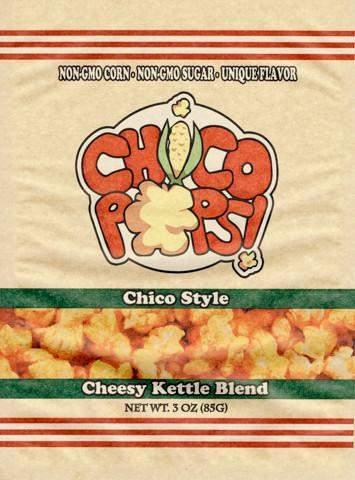 ChicoPops Cheesy Kettle Corn popcorn