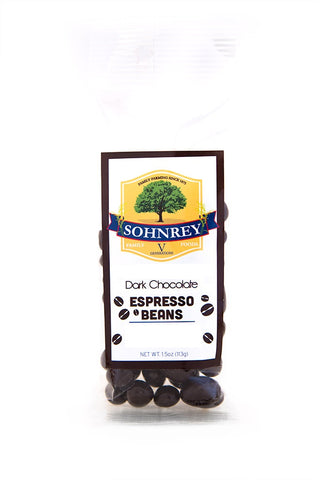 Dark Chocolate Espresso Beans Sohnrey Family Foods