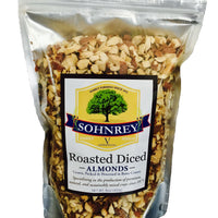 Roasted Diced Almonds Sohnrey Family Foods