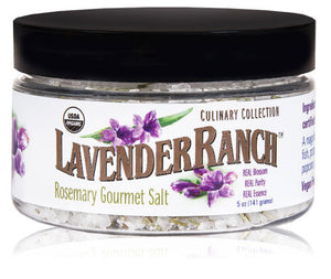 Lavender Ranch Rosemary Gourmet Salt