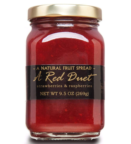 Raspberry Strawberry Fruit Spread Mountain Fruit Company