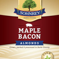 Maple Bacon Almonds