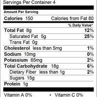 Chocolate Malt Balls Nutrition Facts
