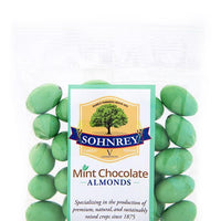 4oz Mint Chocolate Almonds
