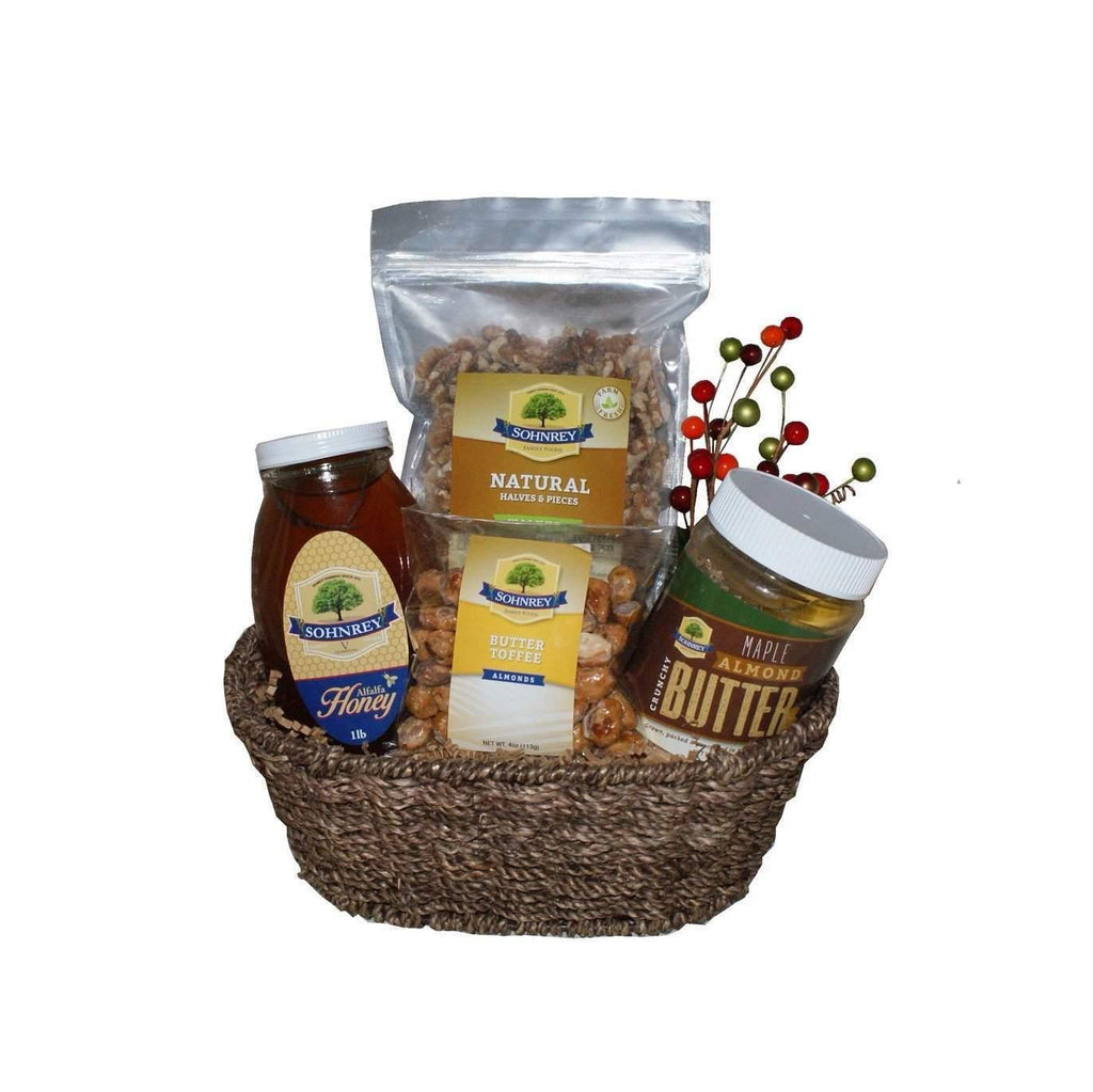 Nuts and Honey Gourmet Gift Basket