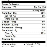 Roasted Salted Almonds Nutrition Facts