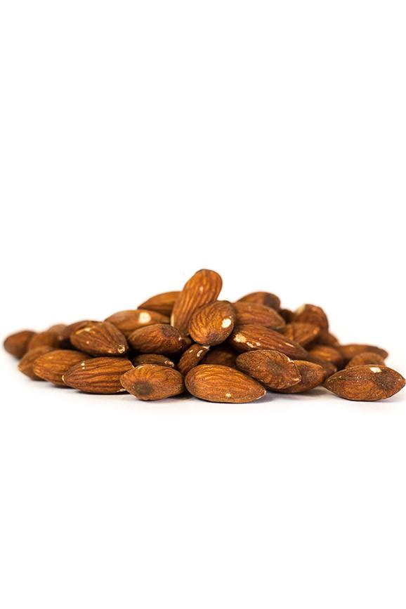 Roasted Almonds Without Salt