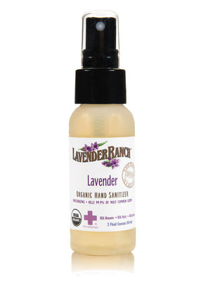Hand Sanitizer From Lavender Ranch