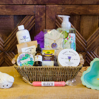 Unwind Spa Basket with Chocolate