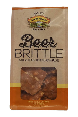 Joy Lyn's Beer Brittle with Peanuts