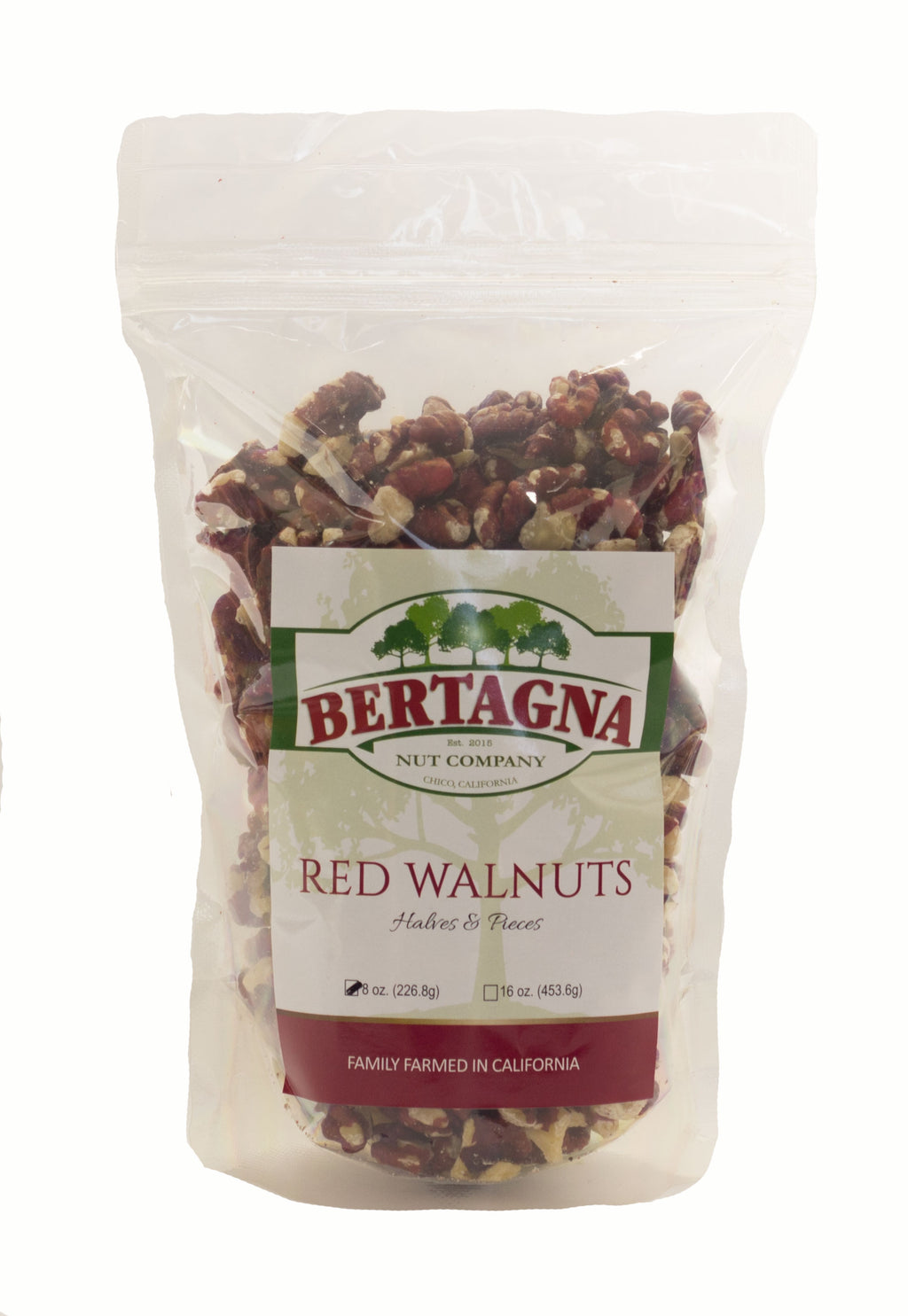 Bertagna California grown red walnuts