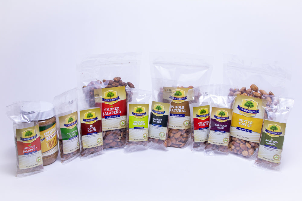 The Harvest Bundle of Almonds (FREE SHIPPING)