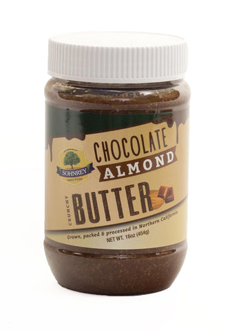 Chocloate Almond Butter Sohnrey Family Foods