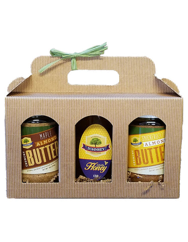 Almond Butter & Honey Gift Pack Sohnrey Family Foods