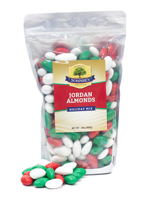 Jordan Almonds (Christmas Mix)
