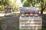 8-Pack Variety of 1.5 oz Roasted and Flavored Almonds