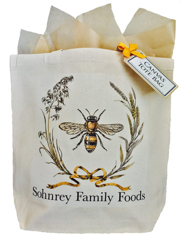Mary Lake-Thompson Honey Bee Canvas Tote