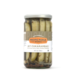 Pacific Pickle Works-Spicy Dill Pickle Spears