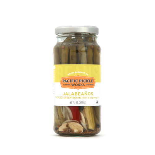 Jalabeanos Pickled Green Beans by Pacific Pickle Works