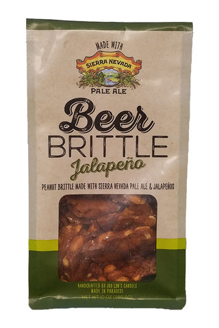 Joy Lyn's Jalapeno Beer Brittle with Peanuts