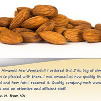 Whole Natural Raw Almonds