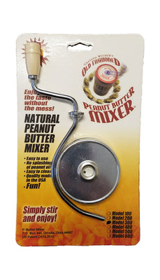 Old Fashioned Nut Butter Mixer