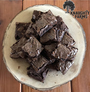 Knaughty Farms Olive Oil Brownies