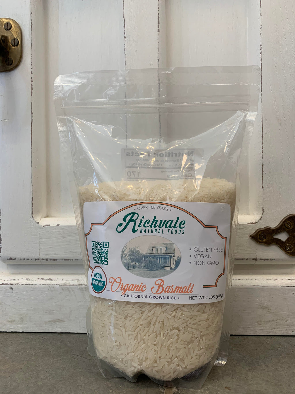 Organic Basmati Rice 2 Lbs 2 Pack Richvale Natural Foods