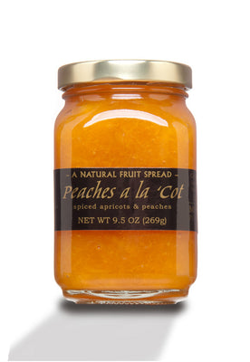 Mountain Fruit Company Peaches a la Cot Fruit Spread (9.5 oz)