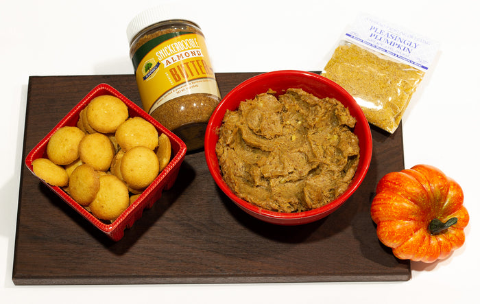 Pumpkin Dessert Spread with Snickerdoodle Almond Butter