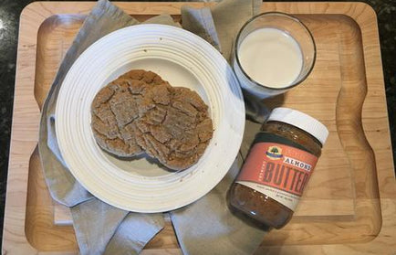 Snickerdoodle almond butter cookies sohnrey family foods almonddoodle