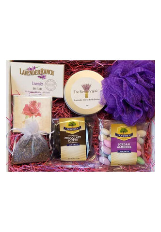 Mothers Day Lavender Gift Box
