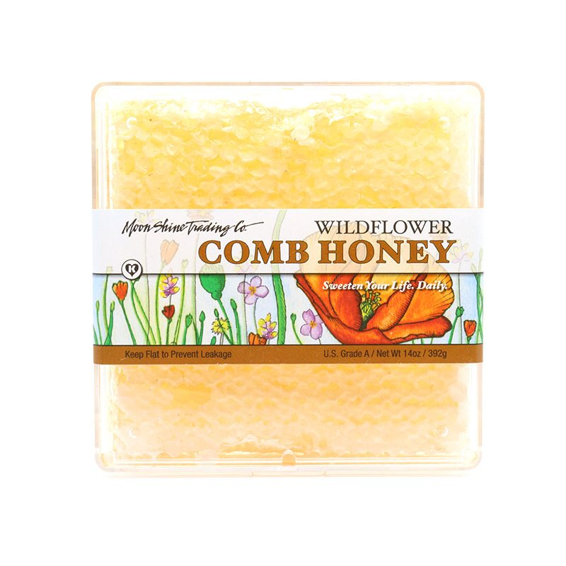 Wildflower Honeycomb 6 oz