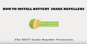 How To Install Battery Powered Snake Repellers