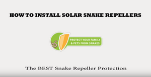 How To Install Solar Snake Repellers