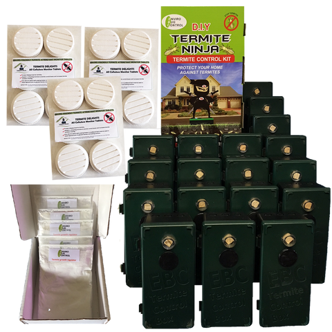 Enviro Bug Control - Termite Ninja - Medium House Kit - 18 Pack - Envirobug